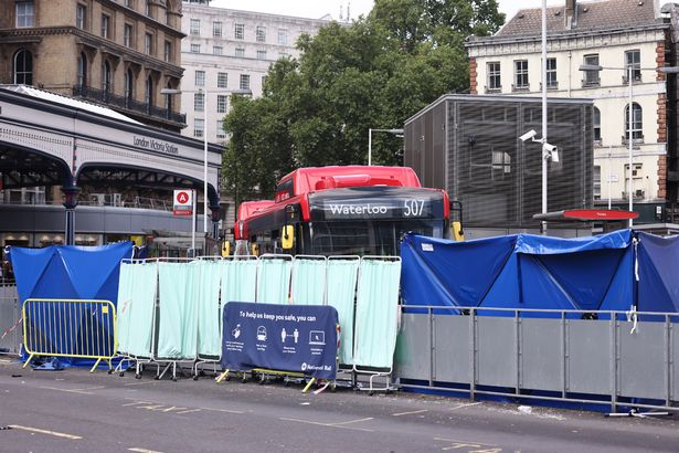 London Victoria station crash: Woman in 30s killed and two hurt after bus smash